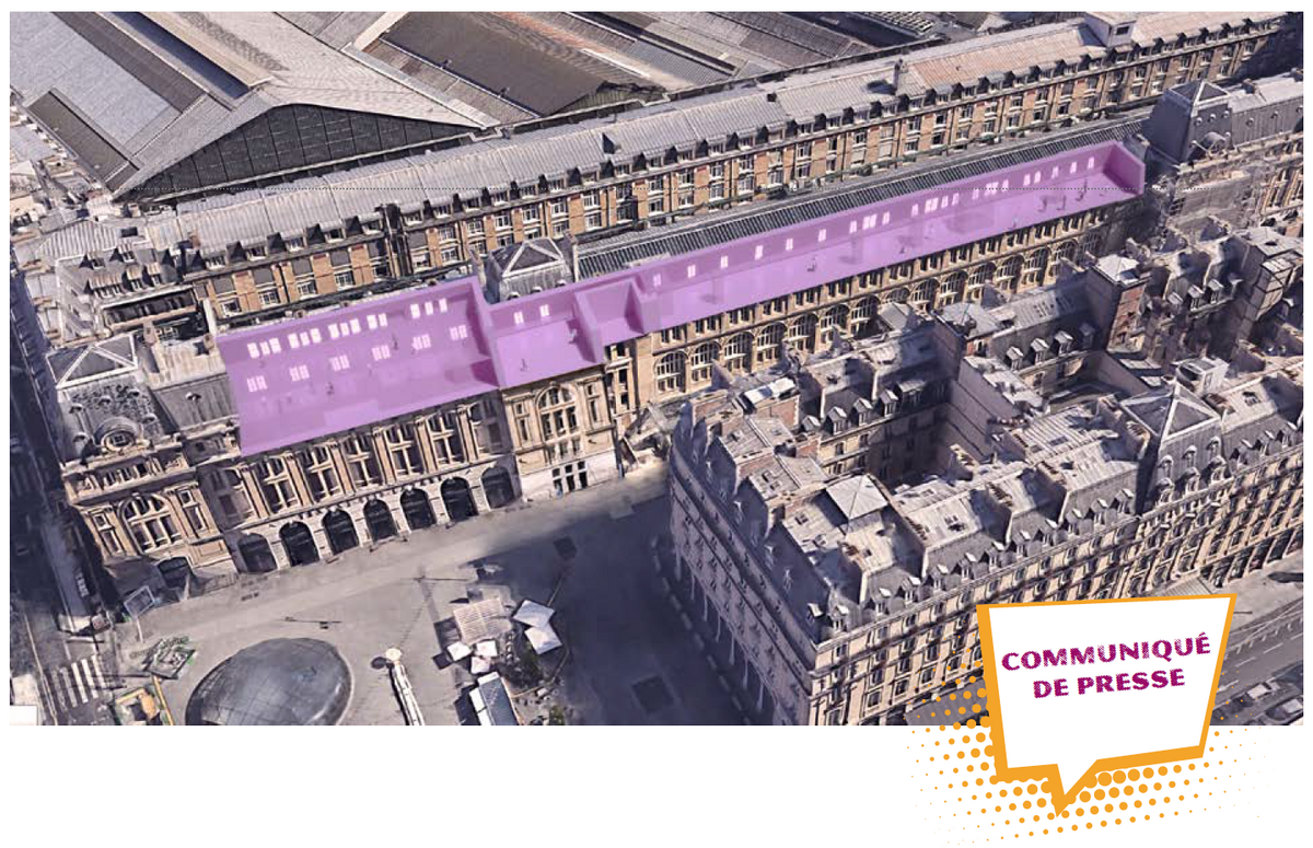 Paris : Le Musée d'Art Ludique installé dans la Gare St Lazare par SNCF Gares & Connexions 04qp